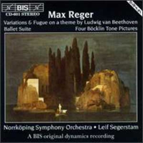 Max Reger: Orchestral Works By Leif Segerstam (Audio CD)