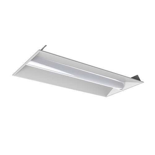 Halco Lighting Technologies 32- Watt White 2 ft. x 4 ft. Volumetric Panel Integrated LED Troffer