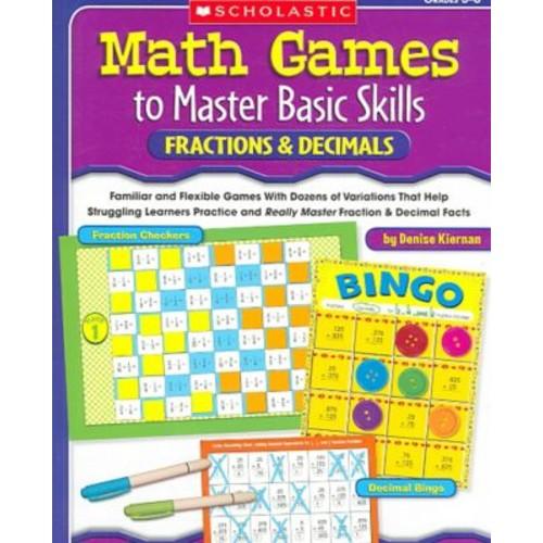 Math Games to Master Basic Skills Denise Kiernan Paperback