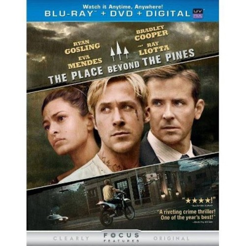 The Place Beyond the Pines [2 Discs] [Includes Digital Copy] [UltraViolet] [Blu-ray/DVD] [2012]