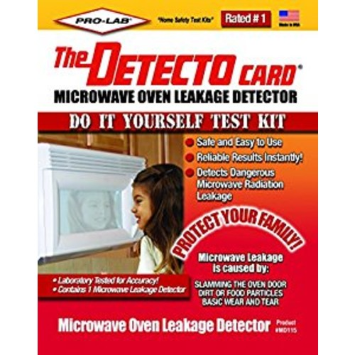 PRO-LAB Microwave Leakage Detector Do It Yourself DIY Test Kit MD115