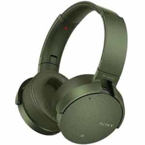 Sony Extra Bass Noise Canceling Headphones - Green