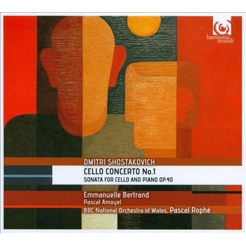 Shostakovich: Cello Concerto No. 1; Sonata for Cello and Piano [CD]