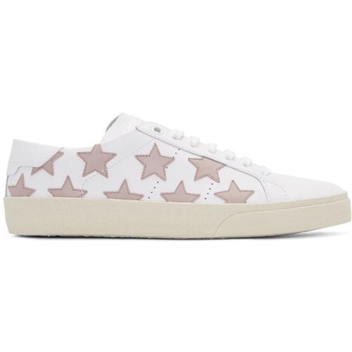 SAINT LAURENT Off-White Court Classic Sl/06 California Sneakers
