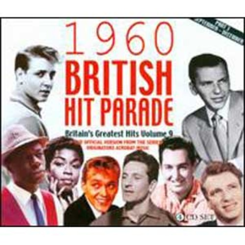 1960 British Hit Parade: Britain's Greatest Hits, Vol. 9, Pt. 3: September-December By Various Artists (Audio CD)