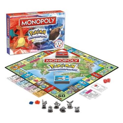 Monopoly Pokmon Kanto Edition Board Game
