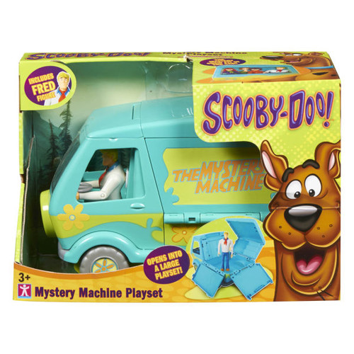 Scooby-Doo Mystery Machine Fred Playset