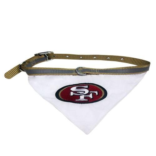 San Francisco 49ers NFL Bandana Collar