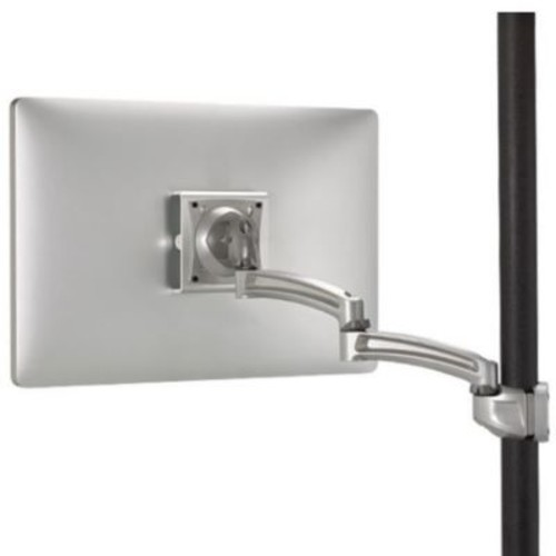 Chief Kontour Pole Mount Articulating Arm, Single Monitor; Silver
