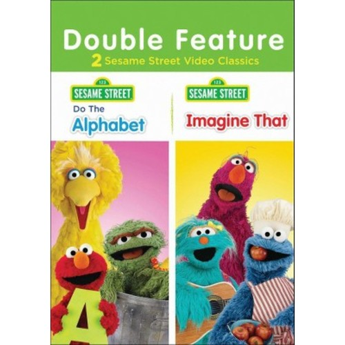 Sesame Street: Do the Alphabet/Imagine That! [DVD]