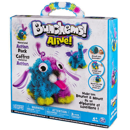 Bunchems Alive Motorized Action Pack