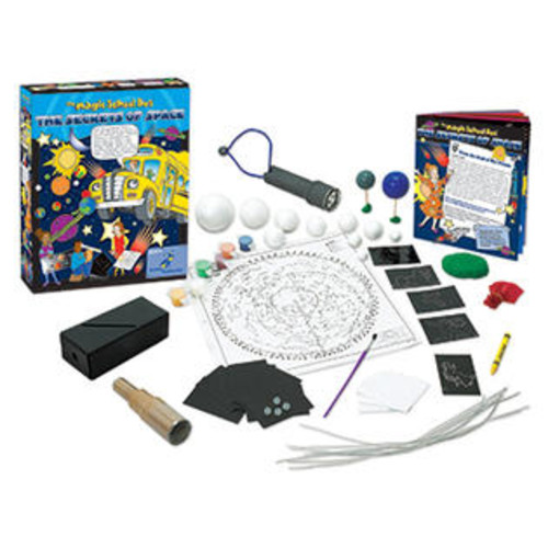 The Young Scientists Club The Young Scientist Club YS-WH9251127 The Magic School Bus The Secrets Of Space Kit