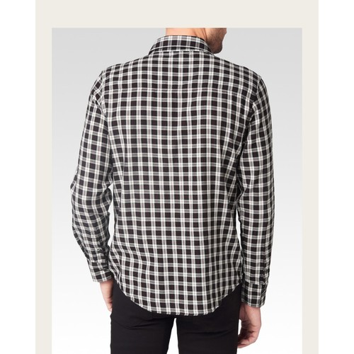 Hunter Shirt - Black/White/Warm Clay