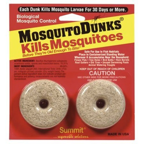 Mosquito Dunks 102-12 Mosquito Killer, 2 Pack [2 pack]