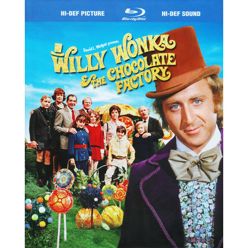 Willy Wonka & the Chocolate Factory [WS] [Blu-ray] [1971]