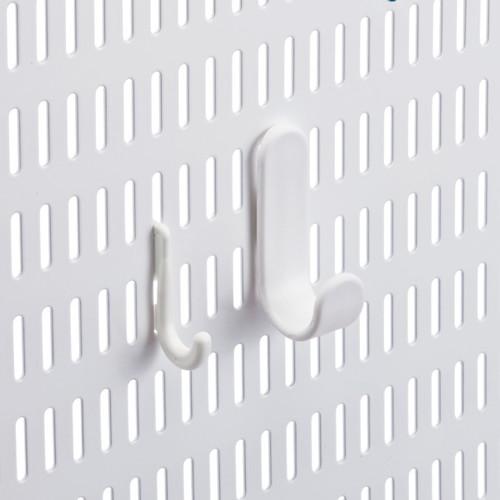 elfa utility Slim Hook White Pkg/6