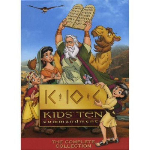 Kids' Ten Commandments: The Complete Collection [5 Discs] [DVD]