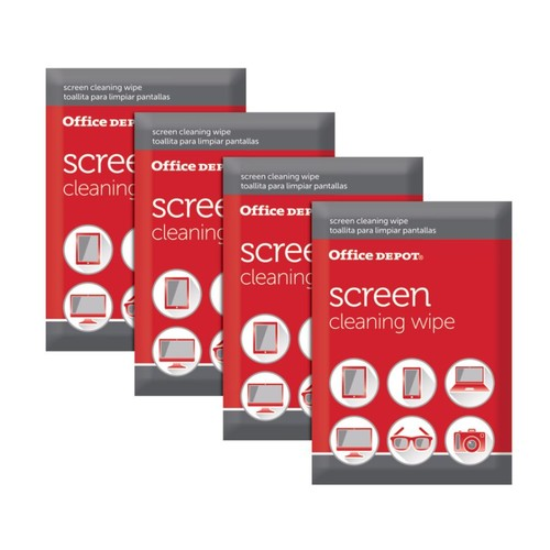 Office Depot Brand Screen-Cleaning Wipes, Pack Of 24