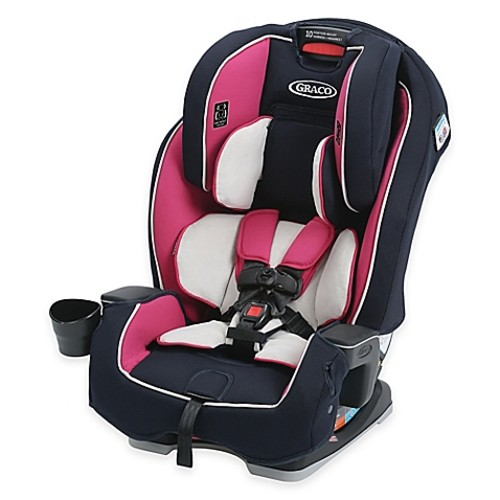 Graco Milestone All-in-1 Booster Car Seat in Pink/Navy Ayla