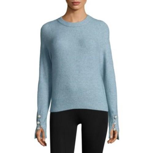3.1 PHILLIP LIM Pearly Cuff Sweater