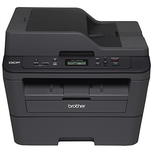 Brother DCPL2540DW Wireless Compact Laser Printer, Amazon Dash Replenishment Enabled [DCPL2540DW]