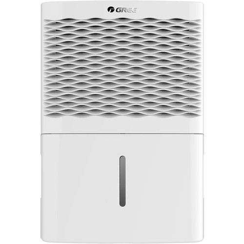 GREE - 30-Pint Portable Dehumidifier - White