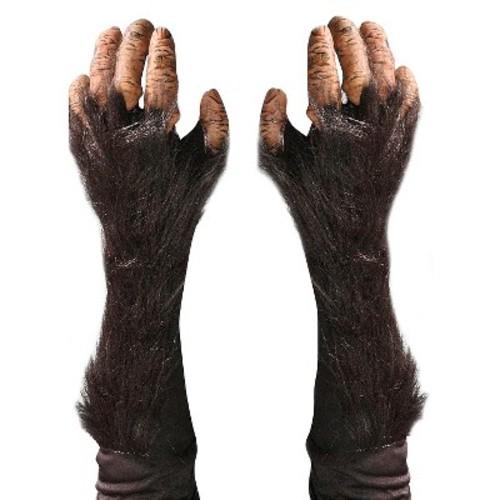 Halloween Adult Chimp Gloves