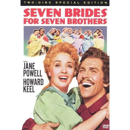 Seven Brides for Seven Brothers (DVD) (Enhanced Widescreen for 16x9 TV) (Eng) 1954