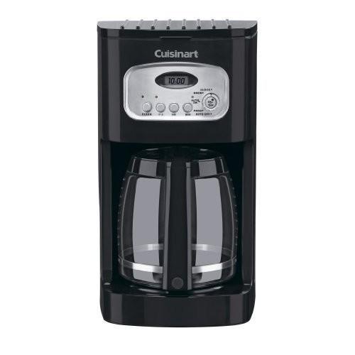 Cuisinart DCC-1100BK 12-Cup Programmable Coffeemaker, Black [Black, 12-Cup]