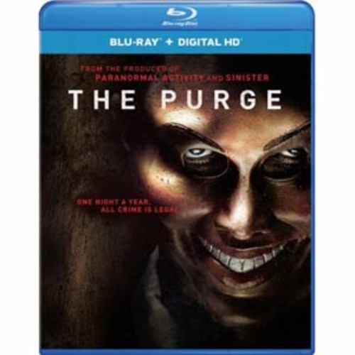The Purge [Includes Digital Copy] [UltraViolet] [Blu-ray] COLOR/WSE DD5.1/DD2/DHMA/DTS