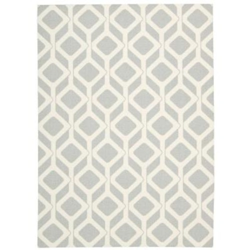 Nourison Enhance Grey 8 ft. x 10 ft. Area Rug