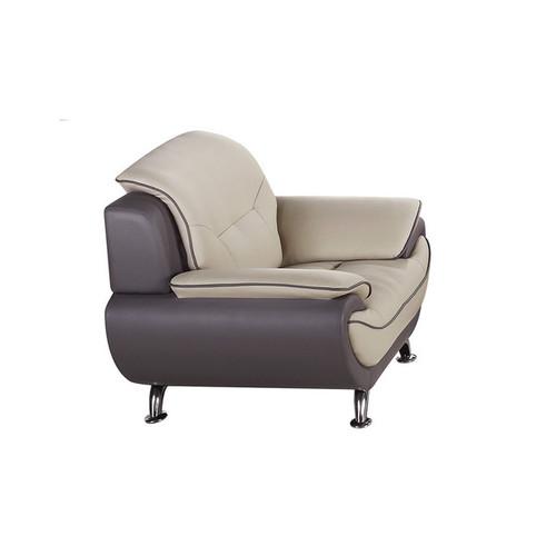American Eagle Light Grey & Dark Grey Chair