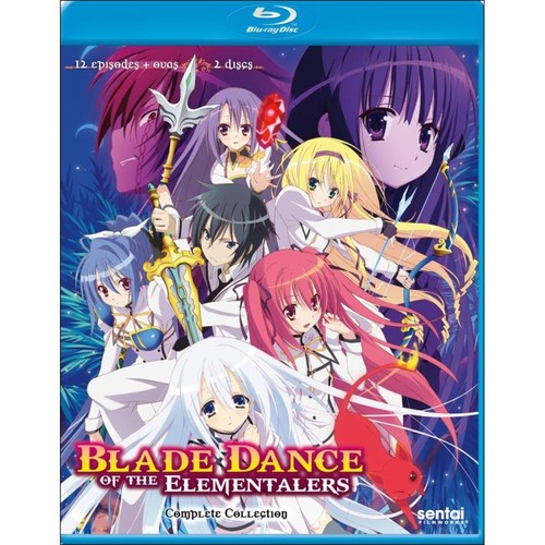 Blade Dance of the Elementalers: Complete Collection [Blu-ray] [2 Discs]