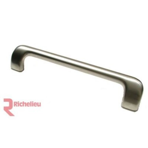 Richelieu Bar Pull; Brushed Nickel