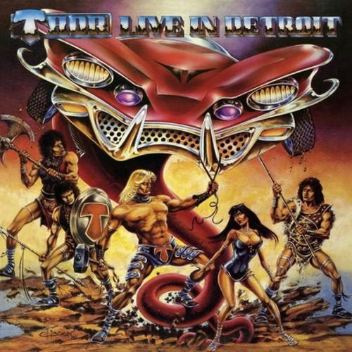 Thor - Live In Detroit 1985 (Vinyl)