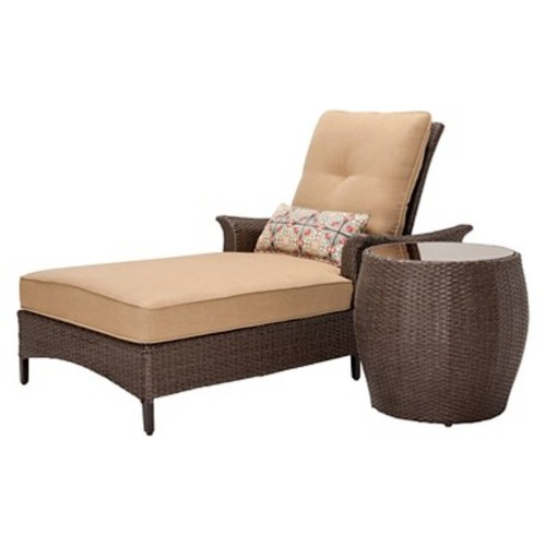 Hanover 2-Piece Outdoor Gramercy Chaise Lounge Set