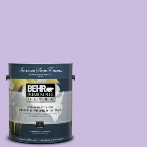 BEHR Premium Plus Ultra 1-gal. #P570-2 Confetti Satin Enamel Interior Paint