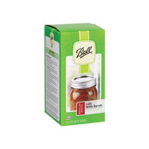 Ball Regular Mouth Canning Lid 12 pk-Mfg# 30000 - Sold As 24 Units (BX/12)