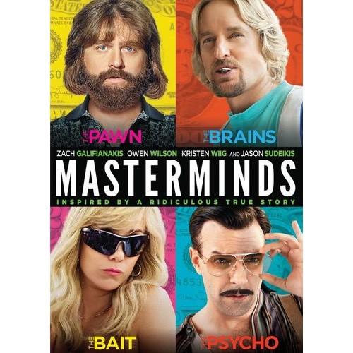 Masterminds [DVD] [2016]