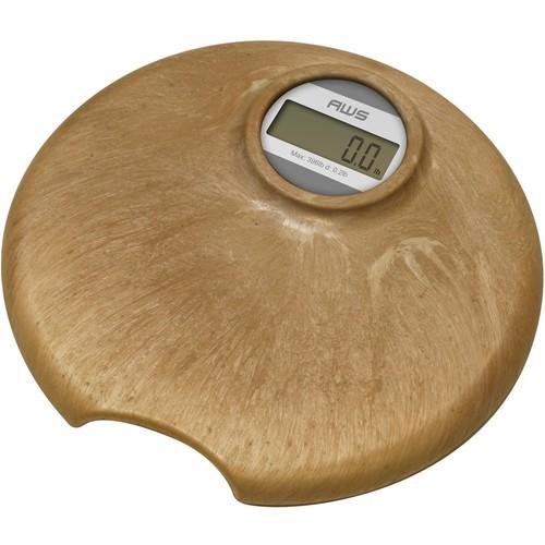 American Weigh Scales - Digital Bathroom Scale - Brown