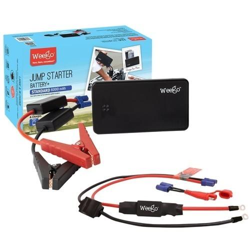 Weego - Jump Starter Battery+ Powersports Bundle - Black