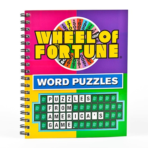 Wheel of Fortune Word Puzzles by Brain Games