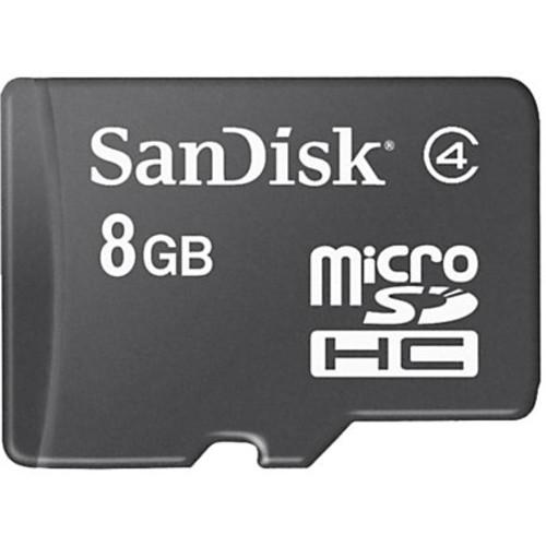SanDisk microSD Memory Card, 8GB