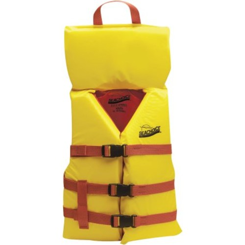 Seachoice30 lbs. Orange Type II US Coast Guard Approved Deluxe Infant Vest (86100)
