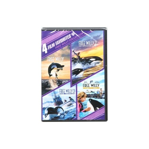 4 Film Favorites: Free Willy 1-4 (4FF) (DVD / NTSC) Jason James Richter, Michael Madsen, Lori Petty, August Schellenberg, Francis Capra