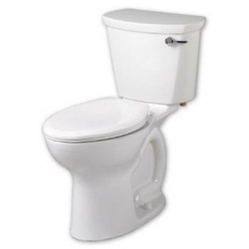 American Standard Cadet White Porcelain Elongated Two-piece Toilet