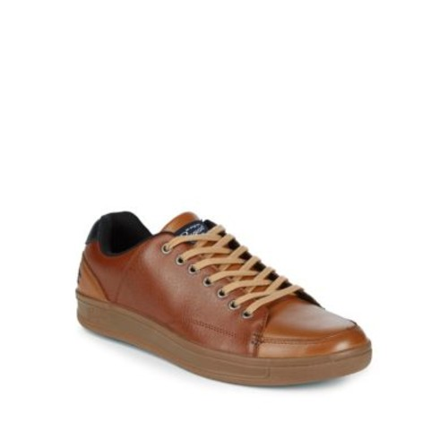 Penguin - Brad Low-Top Leather Sneakers