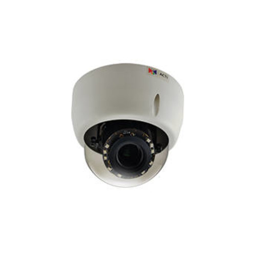 E610 10MP Day/Night Indoor IP Dome Camera with Adaptive IR, Basic WDR, & 3.1 to 13mm Varifocal Lens
