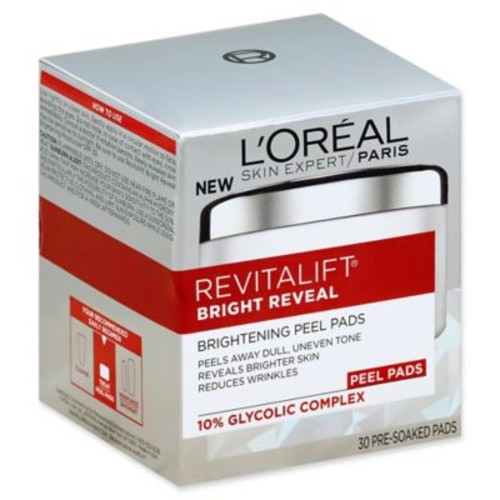 L'Oral Revitalift Bright Reveal 30-Count Brightening Peel Pads