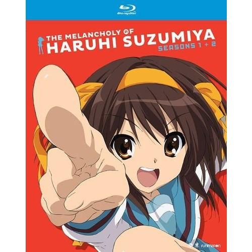 The Melancholy of Haruhi Suzumiya: Seasons One and Two [Blu-ray]
